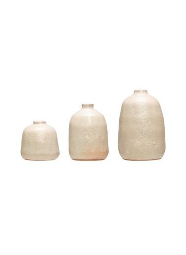 Warm Design Terra Cotta 3'Lü Vazo Renkli